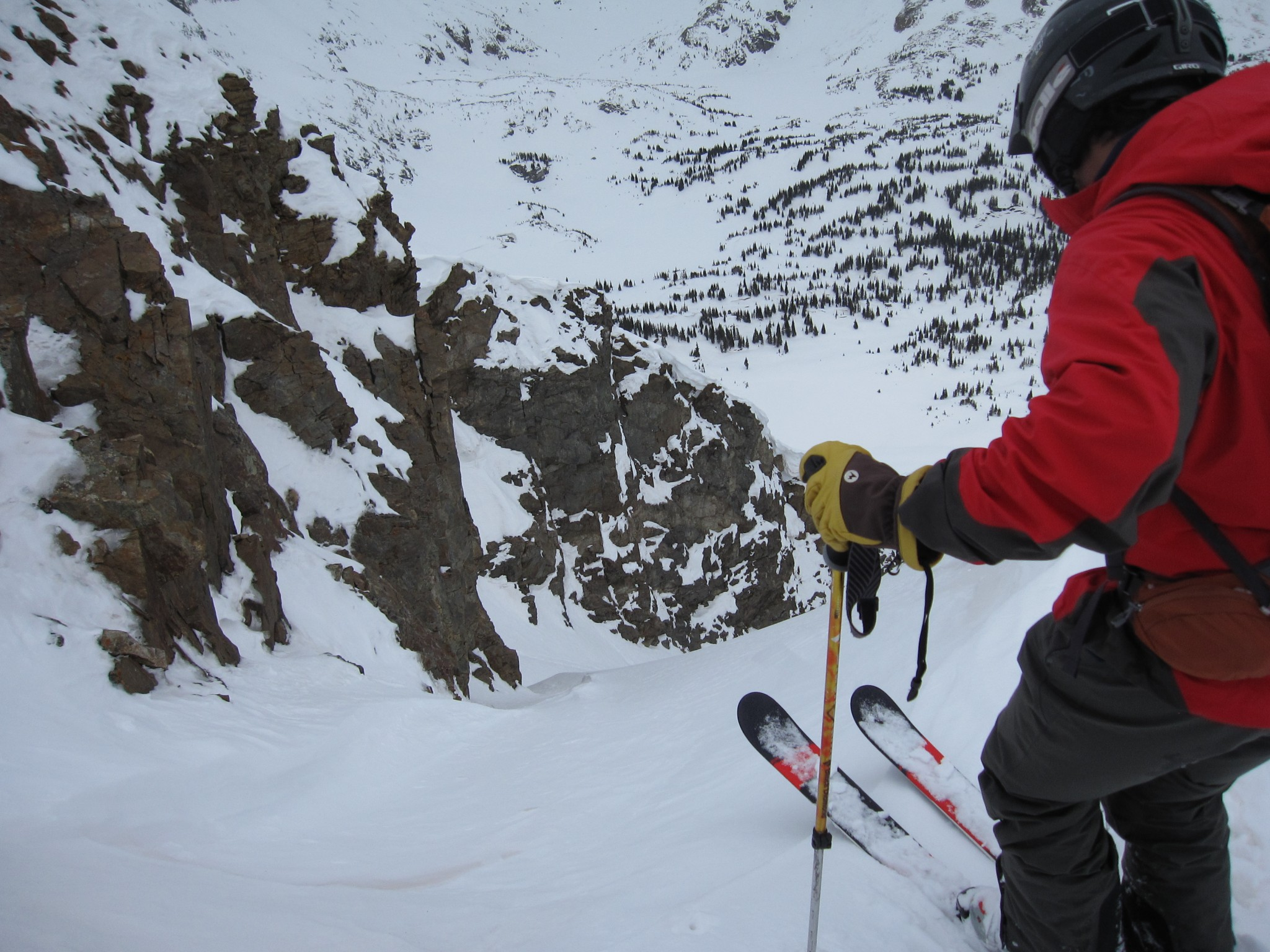 Savage Peak Couloir