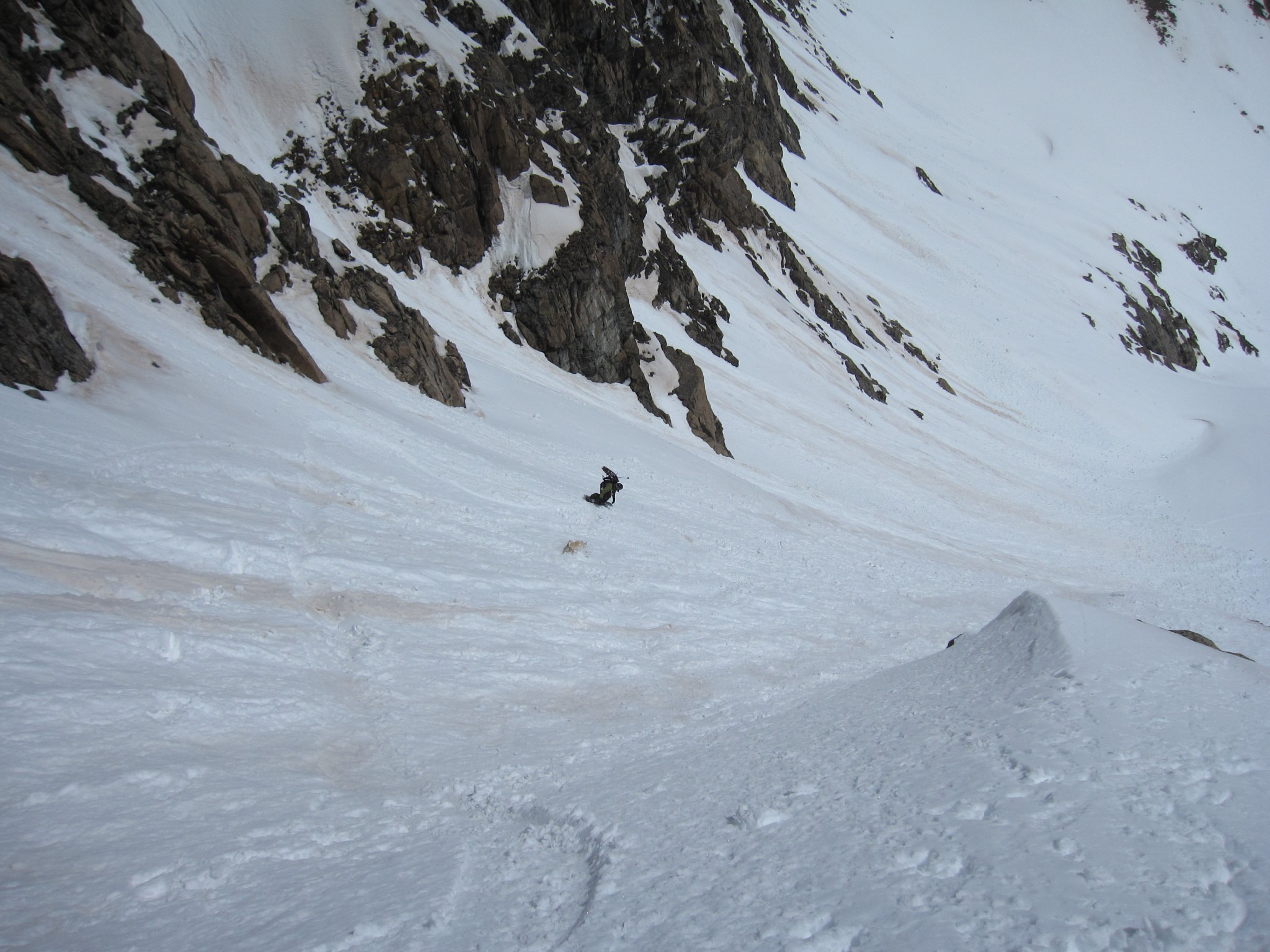 Snoopy's Backside Couloir