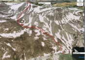 Clinton Peak Route