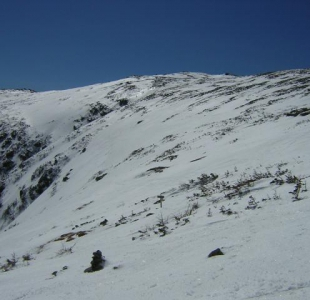 From the top of the headwall