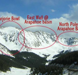 Marjorie Bowl, East Wall, North Pole