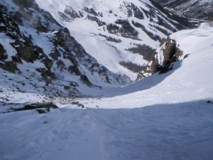 Entrance of the Couloir