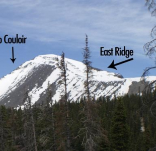 Cristo Coulior and East Ridge