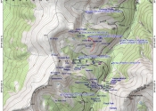 Map of Berthoud pass