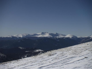 View from the top of James Peak, looking South